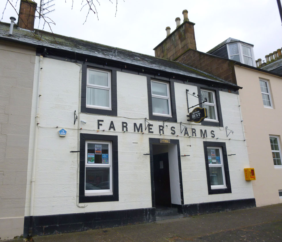 The Farmers Arms, 50 Drumlanrig Street, Thornhill, DG3 5LJ - Pollock and McLean